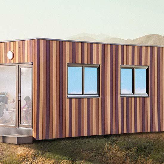 Das Containerhaus schafft neue Räume