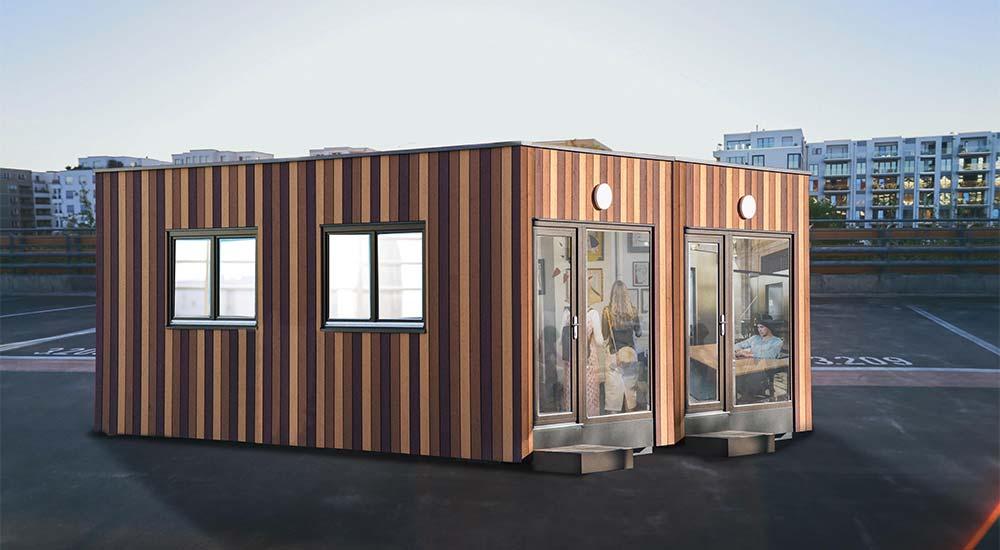 Das Containerhaus als Raumwunder in der Stadt