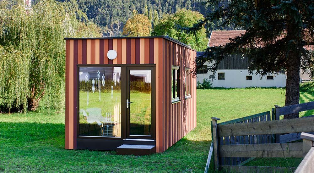 Das Tiny House als perfekter Gartenraum