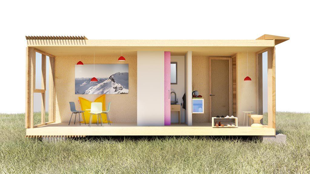 Nachhaltiges Wohnkonzept: Der Wohncontainer aus ökologischen Materialien