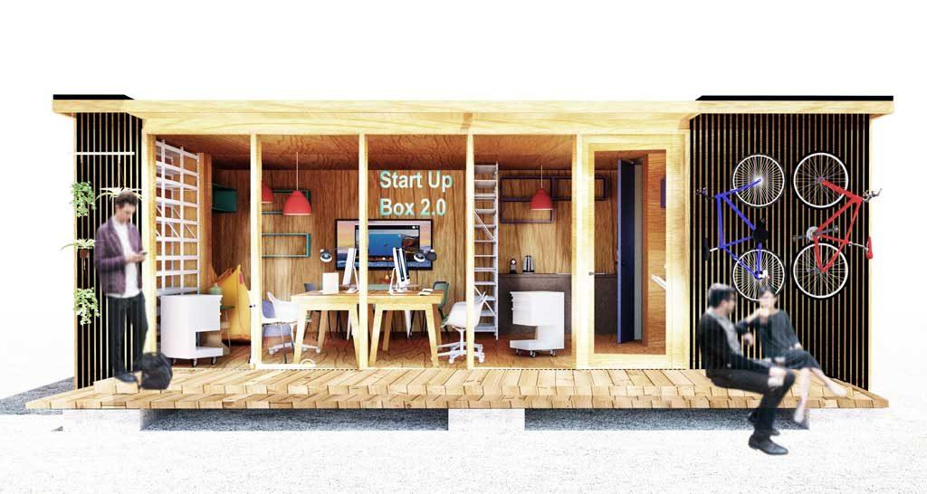 Kreativer Workspace für kreatives Arbeiten
