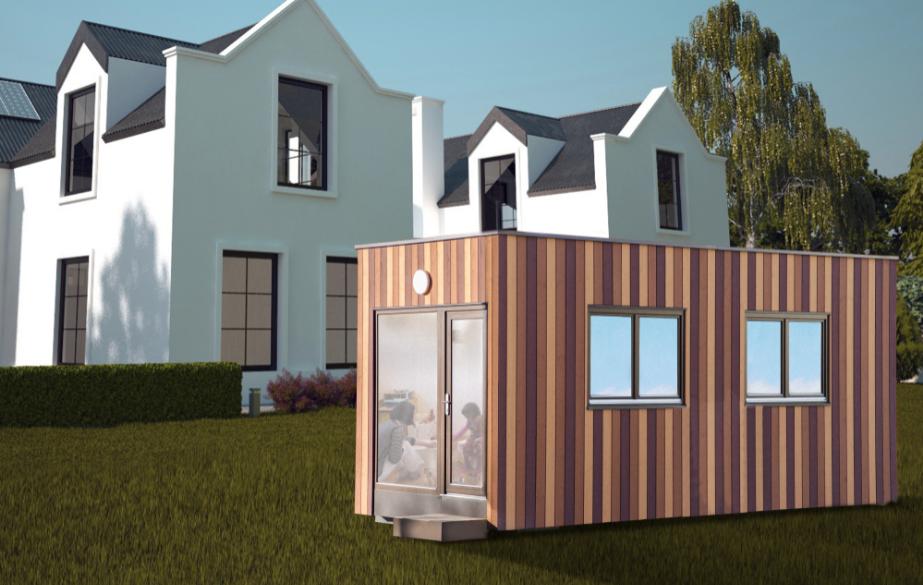 Eigenheim erweitern mit dem Chalet Roomsystem - nachhaltig, ökologisch und kostengünstig