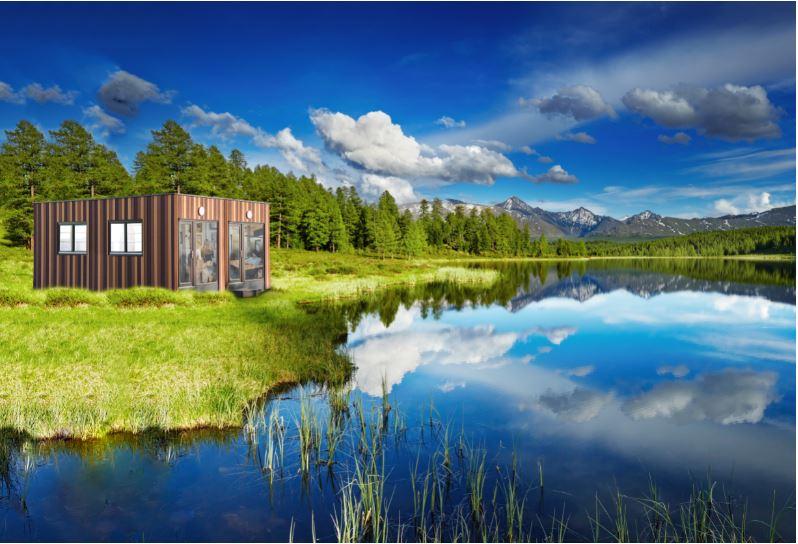 Chalet Mini-Luxus-Loft am Seeufer